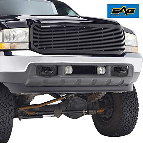 EAG Chrome Billet Grille+Shell for 99-04 Ford Super Duty F250/F350 ()