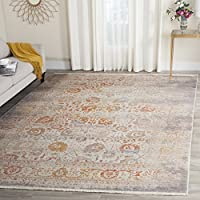 Safavieh Vintage Persian Collection VTP411C Traditional Oriental Grey and Multi Area Rug (9 x 117)