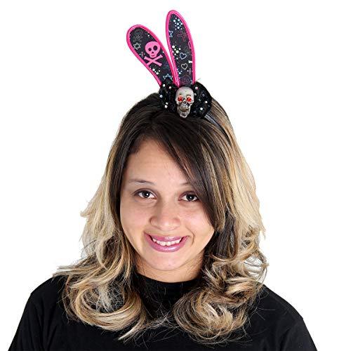 Tiara Coelho Caveira Sulamericana Fantasias