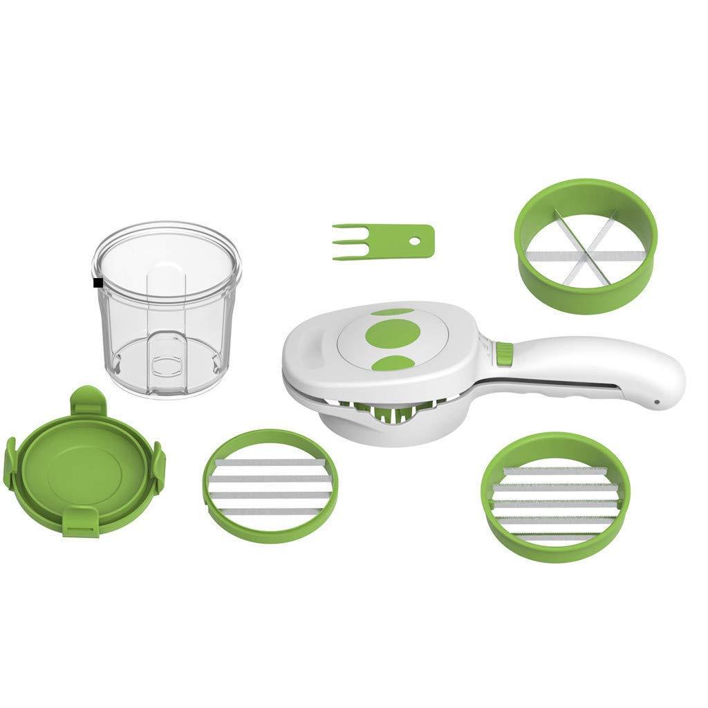 Multifunctional Cutting Vegetables, Shredder Kitchen Magic Slicer Quick Dicer Fruit Cutter Kitchen by MILE.