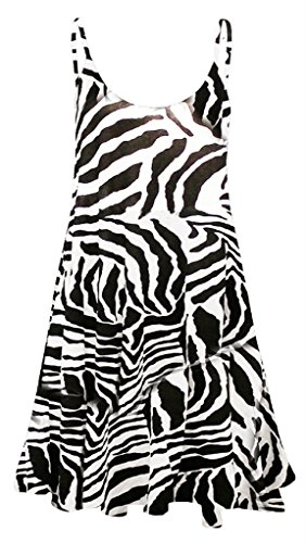Zebra Print Dress - 5
