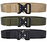 Tactical Belt, 3 Pack Military Style