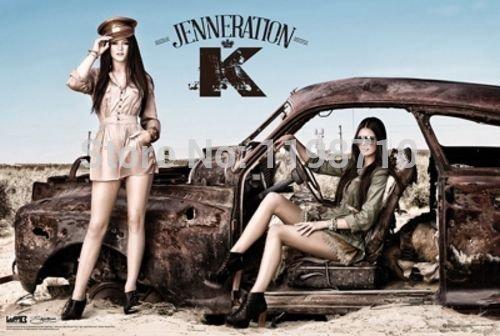 "Da Bang Jenneration K (Kendall and Kylie Jenner) Art Poster Print 20X30 """