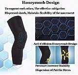 LARDROK Breathable Basketball Shooting Sport Safety Kneepad Honeycomb Pad Bumper Brace Kneelet Protective Knee Pads rodilleras