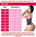 Lady Slim Colombian Latex Waist Cincher/Trainer/Trimmer/Corset Weight Loss Shaper