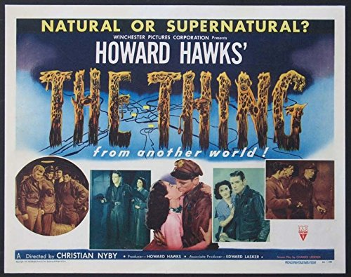 The Thing From Another World Movie Poster