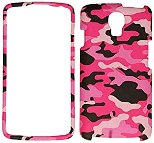 Cell Armor LG Volt/LS740 Snap-On Protective Cover - Retail Packaging - Pink/Black/White Camo