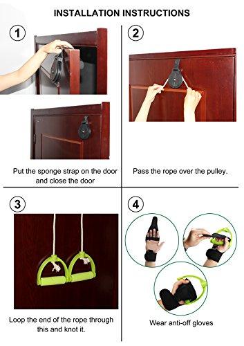 REAQER Shoulder Exercise Pulley - Frozen Shoulders