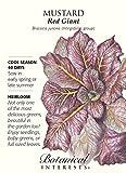 Red Giant Mustard Seeds - 2 grams - Heirloom