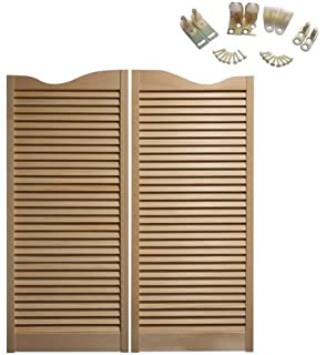cafe doors premade made from sturdy pine wood cafe doors hinges included 36