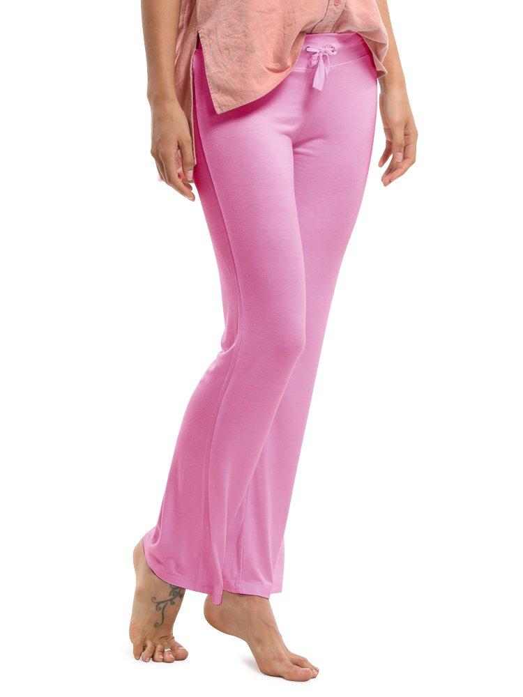 OCHENTA Pantalones Sueltos con Elasticidad Yoga Pants para Mujer   Amazon.es  Deportes y aire libre 3dca2edc07e5