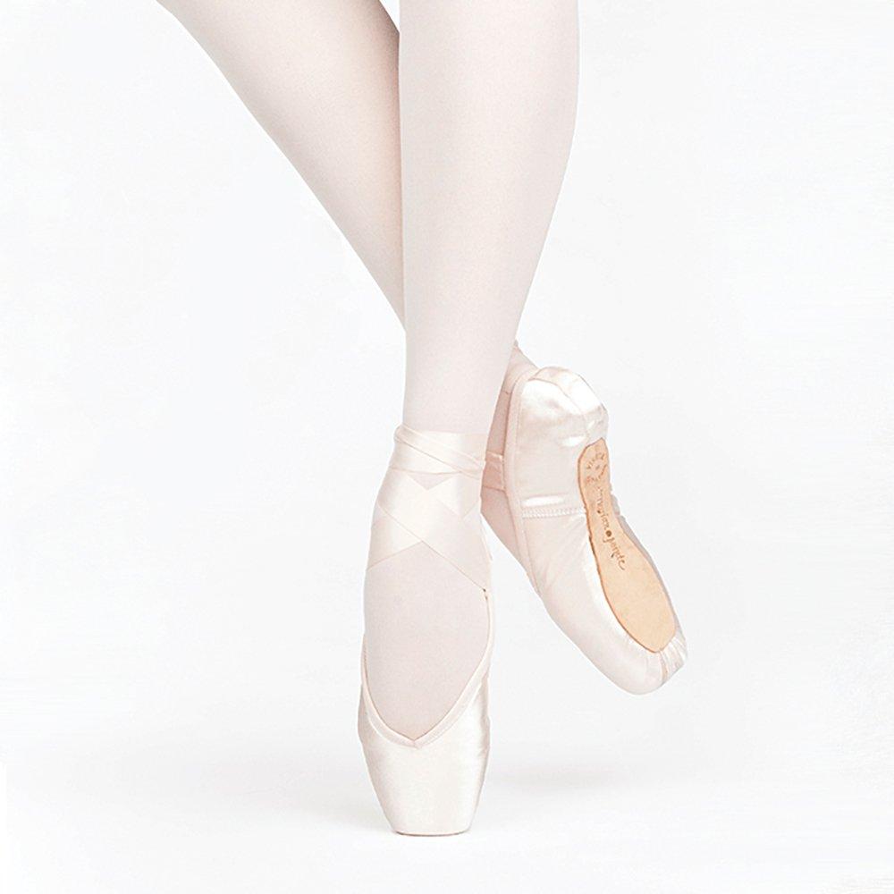 ロシアPointe Encore Pointe靴、u-cut柔軟なソフトシャンク B016QOXUQ4  Size 37, Width 4, Vamp 2