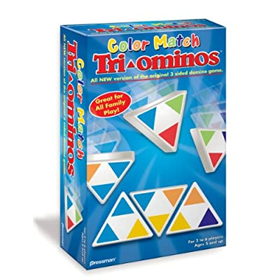 Color Match Tri-Ominos: Toys & Games