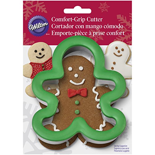 Wilton Gingerbread Boy Comfort Grip Cookie Cutter (Ginger Bread Boys compare prices)
