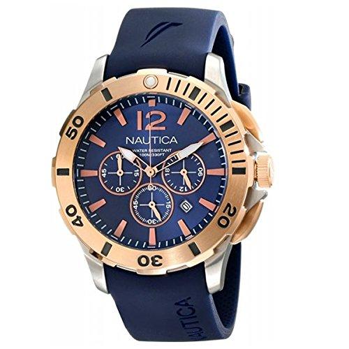 a52f53216e86 Nautica NAI19506G - Reloj para Hombre  Amazon.es  Relojes