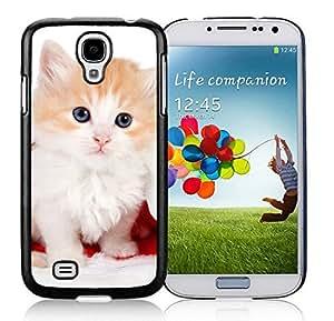 Popular Design Samsung S4 TPU Protective Skin Cover Christmas Cat Black Samsung Galaxy S4 i9500 Case 20