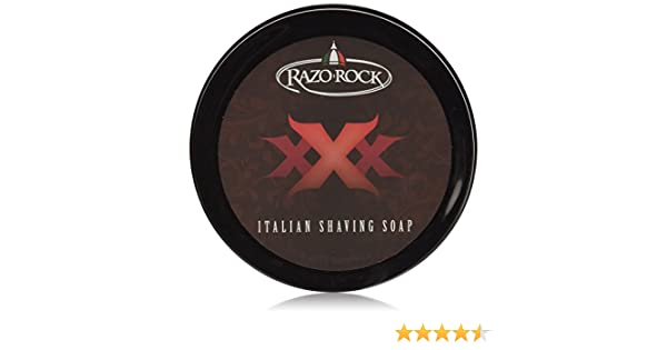 RazoRock XXX Artisan Shaving Soap, 125 ML (4.2 Oz) by RazoRock: Amazon.es: Salud y cuidado personal