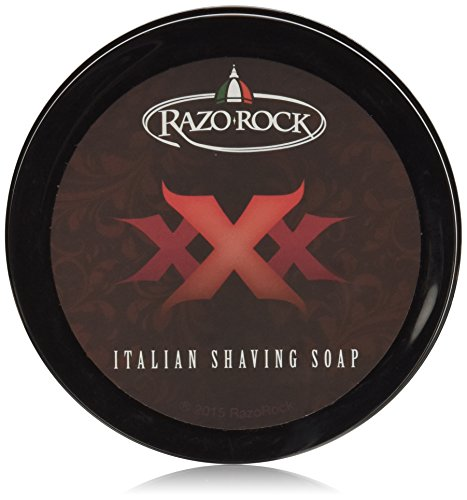 RazoRock XXX Italian Shaving Soap: Artisan Made...