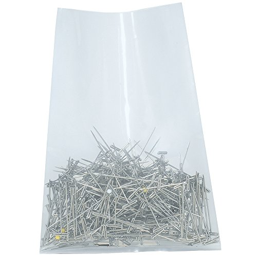 MagicWater Supply Clear Plastic Flat Open Poly Bag 200 Pack 16x20-2 mil