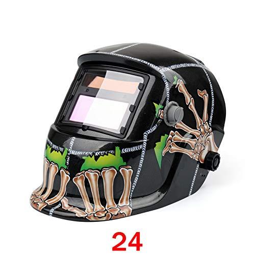 Areyourshop Pro Solar Auto Darkening Welding Helmet Arc Tig Mig Grinding Welder Mask #024 from Areyourshop