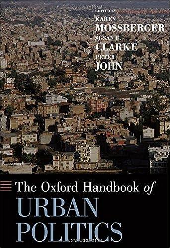 The Oxford Handbook of Urban Politics (Oxford Handbooks in