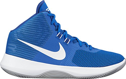 Nike Mens Air Precision Gioco Di Scarpe Da Basket Royal / White-m