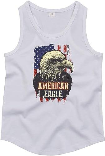Camiseta de Tirantes – American Eagle águila pájaro – Tops Unisex ...