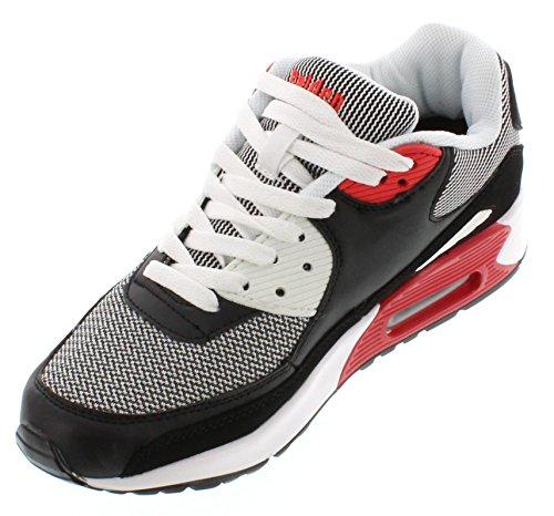 Calden Fd016-2.6 Pollici Taller - Scarpe Per Ascensore Con Altezza Crescente (sneakers Stringate In Pelle Scamosciata)