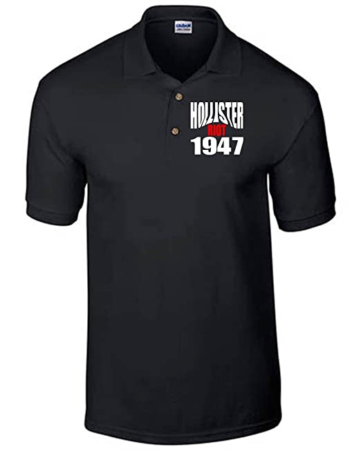 T-Shirtshock - Polo OLDENG00523 hollister riot 1947, Talla S