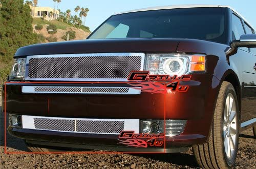 APS Compatible with 03-09 GX470 Lower Bumper Stainless Mesh Grille Insert T76582T