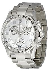 Victorinox Unisex 241499 Chrono Classic Stainless Steel Bracelet Watch