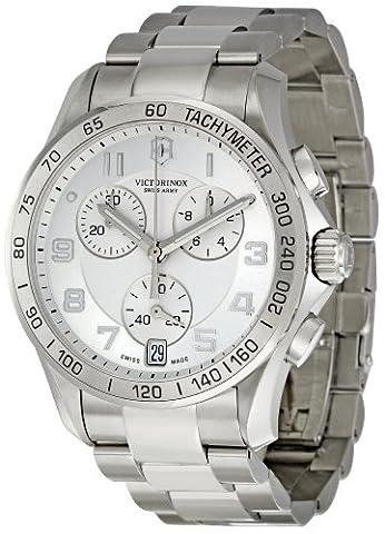 Victorinox Unisex 241499 Chrono Classic Stainless Steel Bracelet Watch - Chrono Classic Ladies Watch