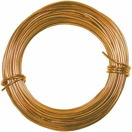 18 Gauge 39 Feet GOLD 42621 by Minor Details (Aluminum Bead Jewelry)