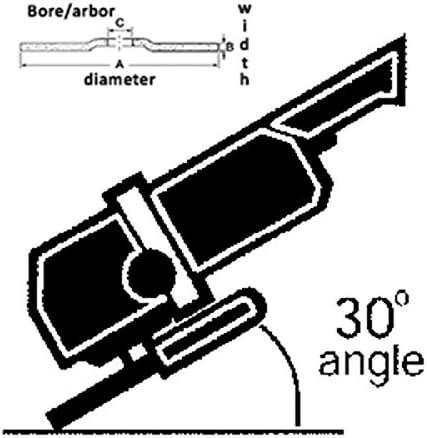 25 Pack United Abrasives-SAIT 35117 180X 7-Inch Pressure Sensitive Adhesive Disc