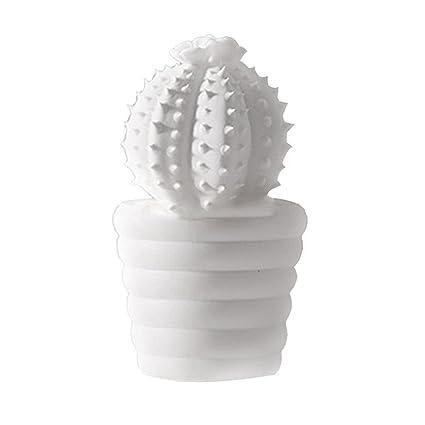 . Amazon com  ECYC Ceramic Cactus Decor Modern Minimalist Living Room