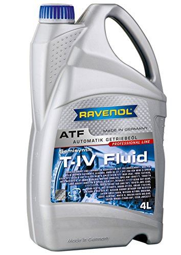 Ravenol J1D2108-004 ATF (Automatic Transmission Fluid) - T-IV Fluid for Toyota and Aisin AW Transmissions (4 Liter) by Ravenol