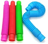 BUNMO Pop Tubes Sensory Toy - 4 Pack