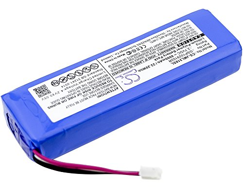 Replacement Battery for JBL Charge 2 Charge 2 Plus Charge 2+ Charge 3 2015 Charge 3 2015 Version Part NO JBL GSP1029102R P763098