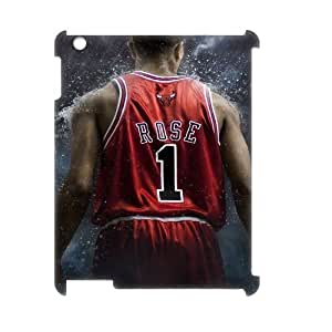 Ipad 2,3,4 3D Customized Phone Back Case with Derrick Rose Image