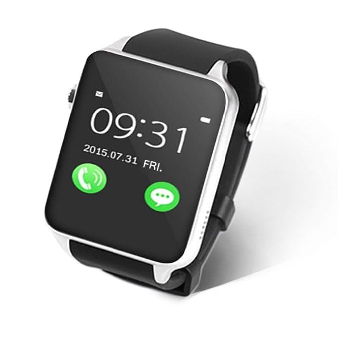 Montre Connectées STOGA nouveau Support SIM carte puce Bluetooth montre GSM téléphone montre-bracelet baignez indépendant Smartphone pour Android et IOS: ...