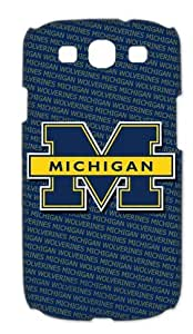 A Good Market Samsung Case NCAA Michigan Wolverines M design Hot Favourite Samsung Galaxy S3 I9300 I9308 I939 Case Cover by runtopwell