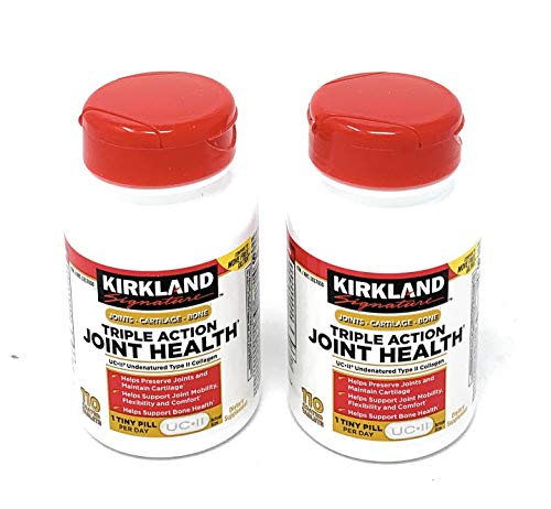- Kirkland Signature Triple Action Joint Health, 110 Coated Tablets(2 of Pack)