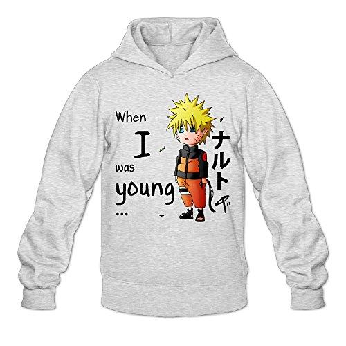 CYANY Japanese Comic Character Naruto Shippuden Women's Casual Hoodies Hooded Sweatshirt XXLAsh