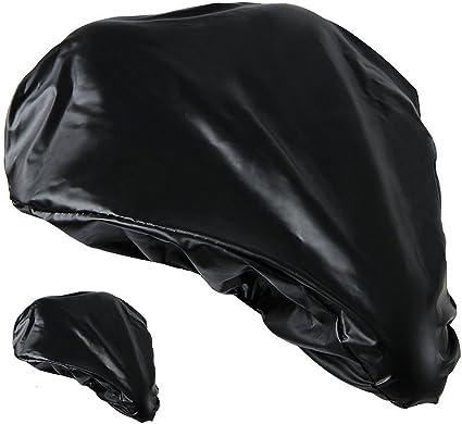 Waterproof Bike Seat Rain Cover w// Elastic Rain and Dust Resistant Saddle Cover