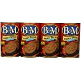 B&M Brown Bread Original, 16 Ounce Cans (Pack of 12)