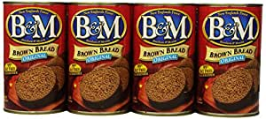 B&M Brown Bread, Original, 16 Ounce (Pack of 12)