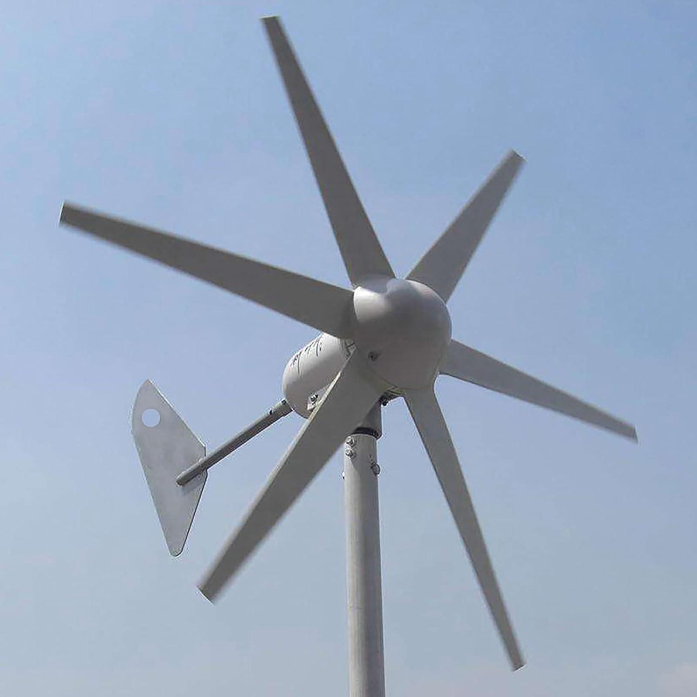 CHIXIA Generador De Aerogenerador De 400w,Arranque De Baja Velocidad del Viento 12v 24V CA Aerogenerador Molino De Viento Generador De Núcleo Sin Hierro-400w 24v