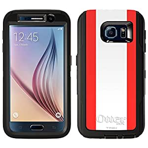 Skin Decal for Otterbox Defender Samsung Galaxy S6 Case - Austria Flag