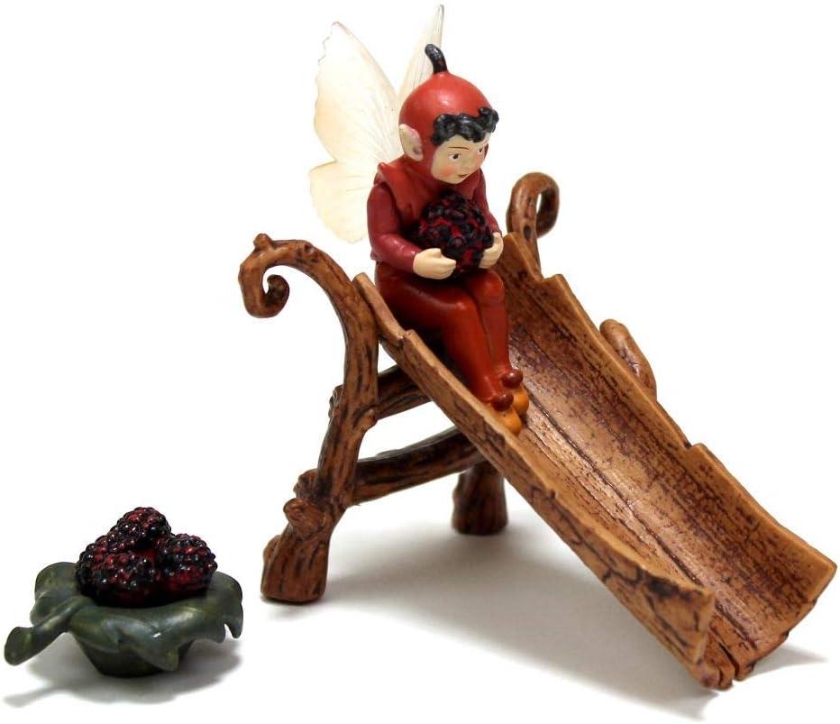 Fairy Garden Mini - Secret Garden Flower Fairies - Mulberry And Slide