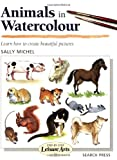 Animals in Watercolour, Sally Michel, 0855328541